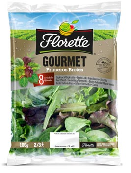 Florette lança Gourmet 8 Brotes