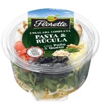 Florette lança nova salada completa – Pasta & Rúcula