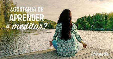 Gostaria de aprender a meditar?