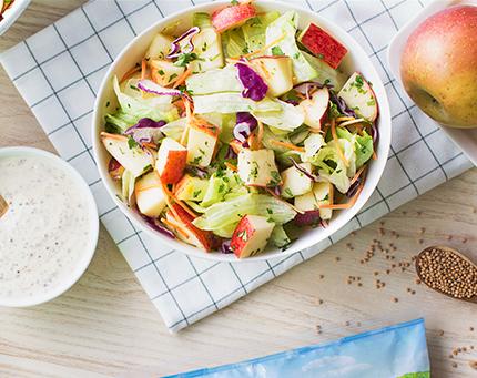 Salada 4 Estações com Maçã