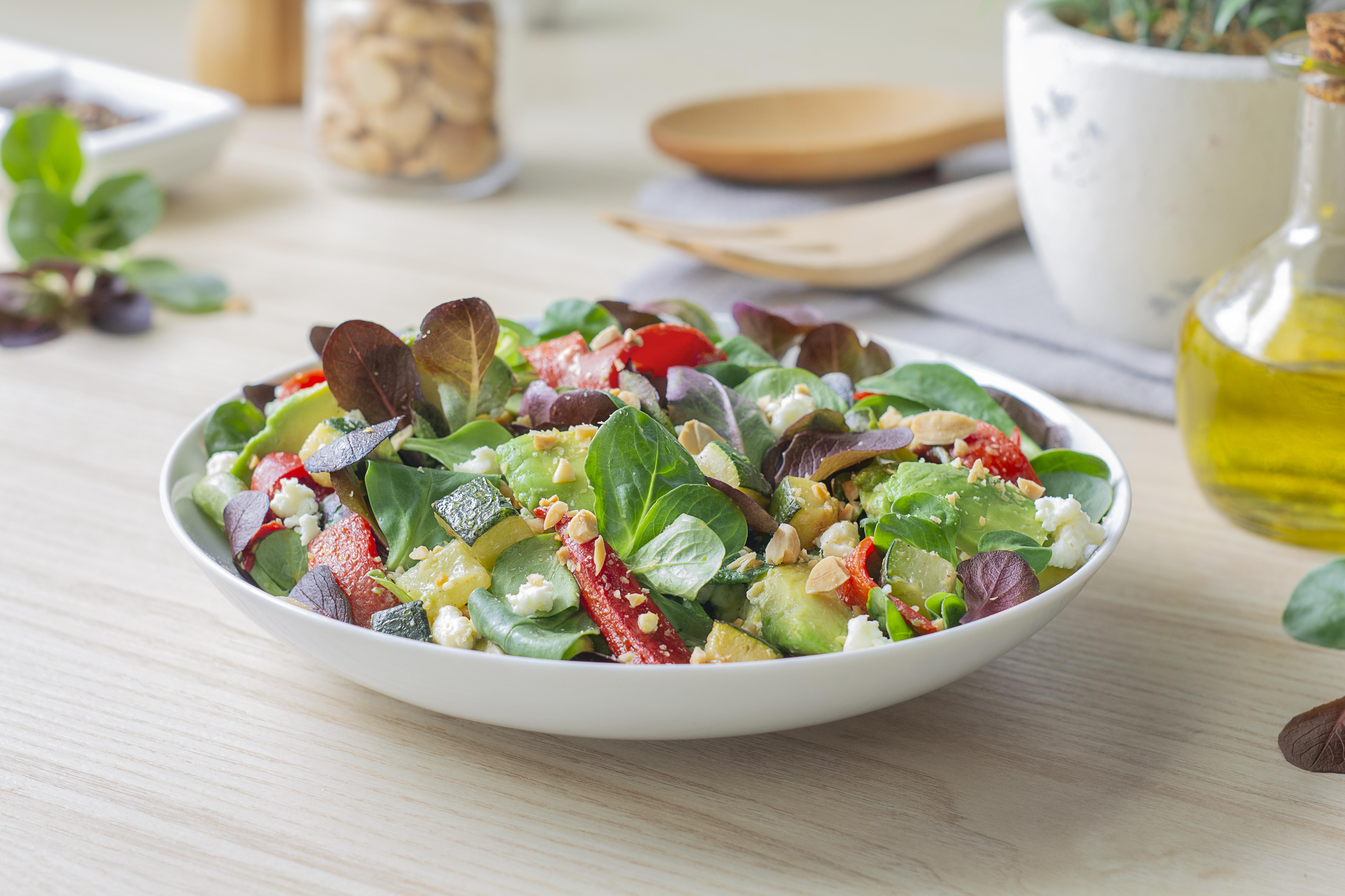 Salada de aboborinha
